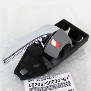 New OEM Lexus LS430 Left Driver Door Inside Handle Gray Color 69206-50030-B1