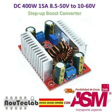 DC 400W 15A Step-up Boost Converter Power Supply 8.5-50V to 10-60V LED Driver