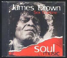 JAMES BROWN - Sex Machine - Soul Music -  CD a397