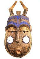 Arte Africano Arti Primo Grande Maschera Toma Landaï - Liberia - 62 CMS °