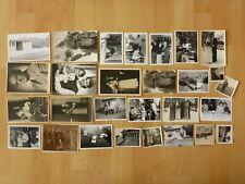 Konvolut Sammlung 28x altes Foto alte Fotos Menschen Hochzeit