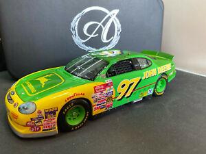 Racing Champions Authentics Chad Little 97 John Deere Ford Taurus Diecast NASCAR
