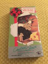 VHS Christmas Classics Cartoons - Twas The Night Before Christmas  New Sealed