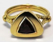 Ring Ruby Yellow Gold 18k Vintage & Antique Jewellery