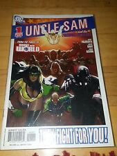Uncle Sam & the Freedom Fighters #1-8 full set by Palmiotti Gray & Acuña DC 2006