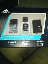 Adidas  eau de toilette Spray 3-piece Gift Set