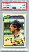 1980 Topps 450 George Brett PSA 9 MINT
