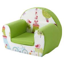 Paris Citron Vert Pour Enfants Mousse Confortable Chaise Petits Enfants Fauteuil