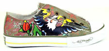 ED Hardy Kids BOYS Unisex Eagle Brown Lowrise Shoes NIB