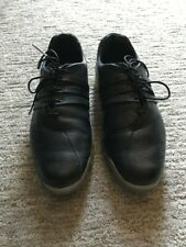 New listing Men's Adidas Adipure Traxion Climaproof Golf Shoes Size 10 Black