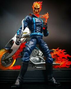 Marvel Legends Ghost Rider Johnny Blaze With Motorcycle 2018