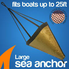 Sea Anchor Drogue Fits Boats Up to 25ft Boat---L