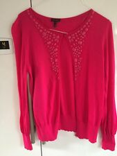 Escada Fuschia Pink Cardigan Size 42