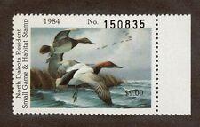 ND3 - North Dakota  State Duck Stamp. MNH. OG. Single.