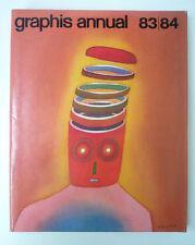 Graphis annual 83-84 -Ed.Walter Herdeg - Zurigo - Annual grafica e illustrazione
