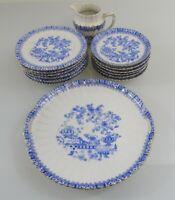 Echt Tuppack - China Blau Tiefenfurt - Kaffee- Teeservice - , ca. 1922-1935