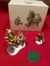 """Dept. 56 """"Christmas Bazaar. Toy Vendor & Cart"""" Heritage Village #56597"""