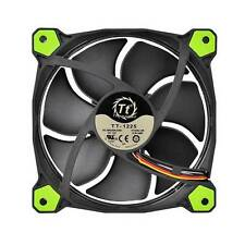Thermaltake Riing 120mm Green LED Case Fan (3 fans pack)