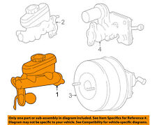 FORD OEM 99-04 Mustang-Brake Master Cylinder F9ZZ2140DA