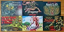 Lot 6 MONSTER VILLAINS DRAGONS Scholastic Mythical Folklore Worst Unicorns