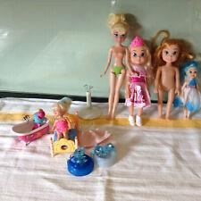 Petite poupée Bundle-Comprend Mattell Poupée Avec La La Loopsy poupée, lit et bain