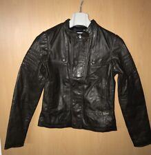 NEU G-Star RAW Lederjacke Damen Gr S Deanie  Leather Wmn Olive Echtleder Leder