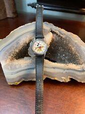 Vintage Lorus Quartz Disney Mickey Mouse Watch V515-6128 Japan Water Resistant