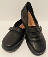Croft & Barrow Ortholite Women's Size 9.5 M Ballet Flats Black Shoes Mary Janes