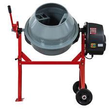 Portable Electric 500w 40cu Concrete Cement Mixer Barrow Machine Mixing Mortar