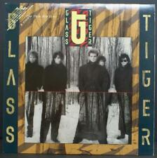 GLASS TIGER - THE THIN RED LINE - ROCK VINYL LP PROMO