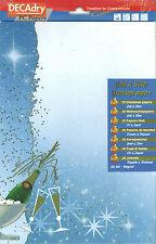 Decadry SPL-7026 Golden Bubbles Themed A4 Celebration Letterhead Writing Paper