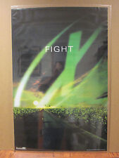 """vintage The X Files Tv series """"Fight"""" poster 1998 6865"""