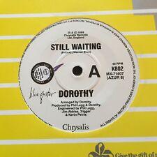 "DOROTHY  - - STILL WAITING - - Rare 1988 Australian PROMO 7"" Synth Pop"