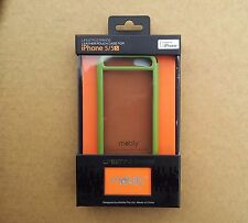 MOBILY IPHONE 5/5S GENUINE HIGH QUALITY HANDCRAFTED LEATHER POUCH CASE