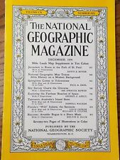 The national geographic magazine