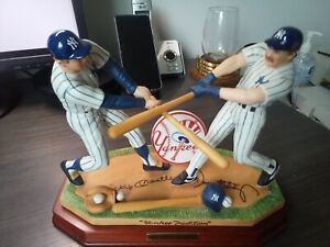 Sports Impressions Yankee Tradition Figurine Mickey Mantle Don Mattingly 533/900