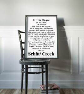 Schitt's Creek poster, Schitts Creek gifts, Fold in the Cheese, Ew david, Love