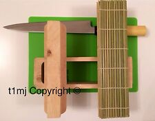 NEW - SUSHI MAKING KIT SET - INCLUDES BAMBOO MAT, MOULDING BLOCK