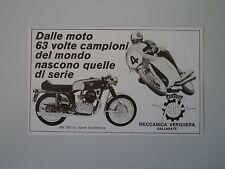 advertising Pubblicità 1971 MOTO MV AGUSTA 350 SPORT BICILINDRICA