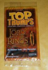 LOTR TOP TRUMPS TTT BALROG CARD - NEW & SEALED - RARE (2002)