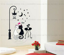 Cat lover Room Decor Removable Wall Stickers Decal Decoration Wandtattoos