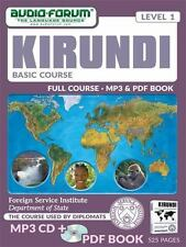 FSI - Basic Kirundi (MP3/PDF) (2013, CD-ROM, Windows), Free 3 Day Shipping