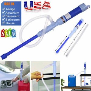 Battery Operated Liquid Transfer Pump Siphon Pump for Fuel Gas Oil Gasoline Wate
