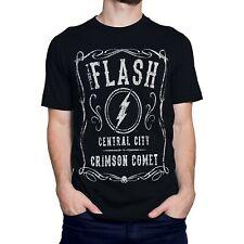 The Flash Crimson Comet Central City Men's T-Shirt Black