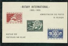 Belgique Bloc Rotary 1905-1955 carte Europe ** MNH  Rare tirage 650 exemplaires