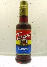 Torani ~ Raspberry Syrup ~ Add to Your Drinks ~ 12.75oz Bottle