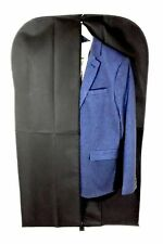 10 xSuit Cover Bags Mens Clear Fabric Breathable Travel Zipped Long Dress Covers