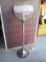 Lampada da terra modernariato anni 60 vetro soffiato Murano glass