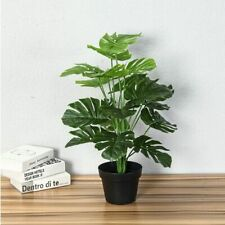 Fake Tropical Tree Plants Home Garden Decor Artificial Real Touch Plastic Stem
