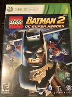 LEGO Batman 2 DC Super Heroes — Complete! (Xbox 360, 2012)